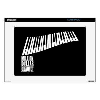 Million Dollar Quartet Piano - White Skins For Laptops