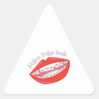 Million Dollar Smile Sticker