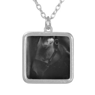 Million Dollar Tapit Filly Silver Plated Necklace
