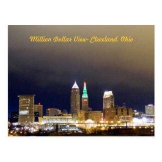 Million Dollar View(Cleveland) Postcard