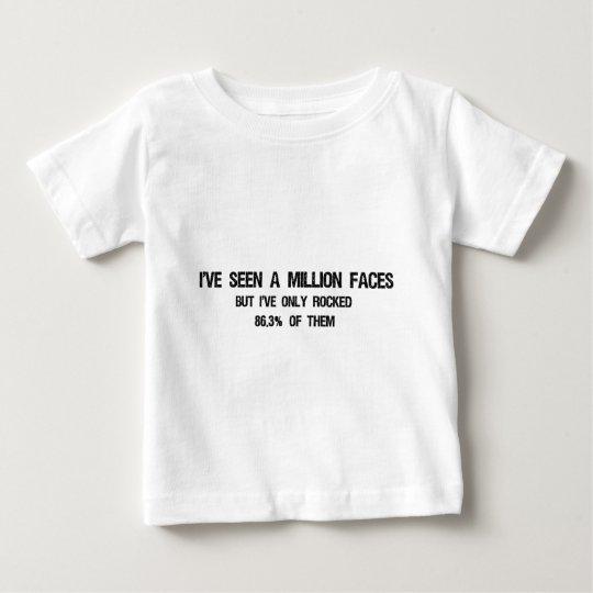 Million Faces Baby T-Shirt