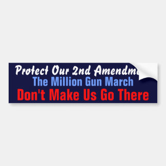Million Gun March Bumper Sticker
