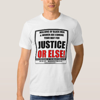 Million Man March 2015 T-Shirt Millions are comin
