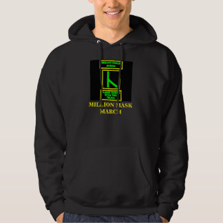 MILLION MASK MARCH HOODIE