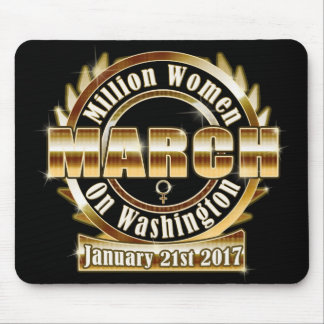 Million Womens March on Washington 2017 Mousepad