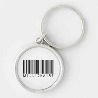 Millionaire Bar Code Keychain