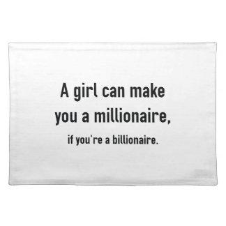 Millionaire Cloth Placemat