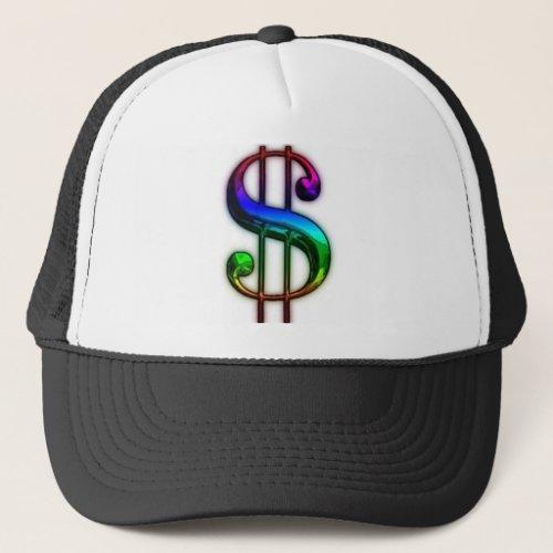 MILLIONAIRE DOLLAR SIGN TRUCKER HAT 3