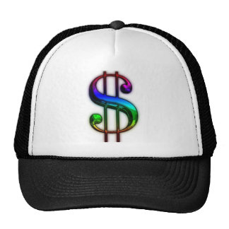 MILLIONAIRE DOLLAR SIGN TRUCKER HAT #3