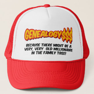 Millionaire In The Family Tree Trucker Hat