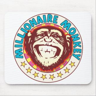 Millionaire Monkey Mouse Pad