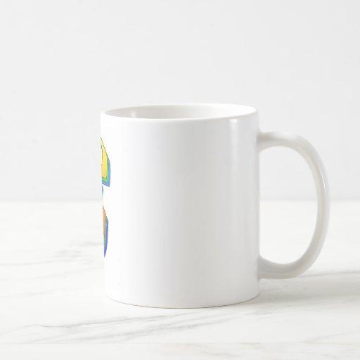 Millionaire Pound Blend Classic White Coffee Mug