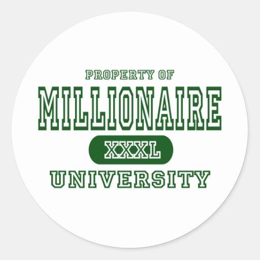 Millionaire University Sticker