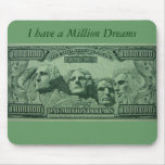 Millionaire wishes Mousepad Mouse Pad