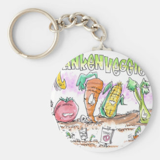 Millions Against Monsanto Basic Round Button Keychain