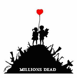 Millions Dead Kids Photo Sculpture