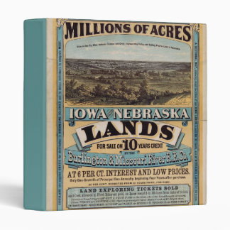 Millions of Acres 3 Ring Binders