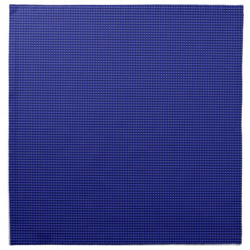 MIllions of Tiny Thin Blue Line Buttons Napkin