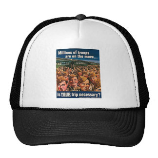 Millions of Troops are on the Move Trucker Hat