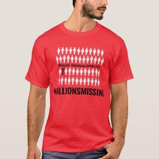 #MillionsMissing la camiseta de 2016 hombres