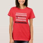 """#MillionsMissing Women&#39;s T-Shirt<br><div class=""""desc"""">T-Shirt for the #MillionsMissing movement. See more at: millionsmissing.org</div>"""