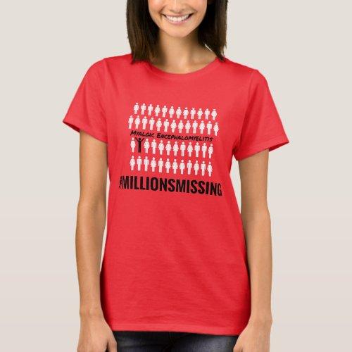 MillionsMissing Womens T_Shirt