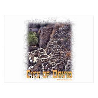 Millo en la ciudad de David, Jerusalén Postales