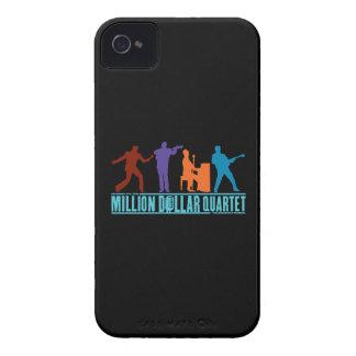 Millón de cuartetos del dólar en etapa Case-Mate iPhone 4 coberturas