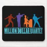 Millón de cuartetos del dólar en etapa mouse pads