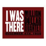 """Millón de cuartetos del dólar """"estaba allí """" tarjetas postales"""