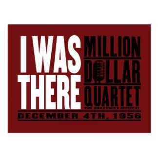 """Millón de cuartetos del dólar """"estaba allí """" postal"""