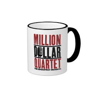 """Millón de cuartetos del dólar """"estaba allí """" taza de dos colores"""