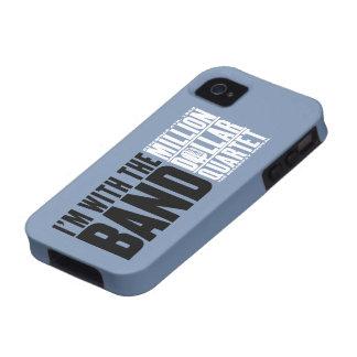 """Millón de cuartetos del dólar """"estoy con la banda  Case-Mate iPhone 4 fundas"""