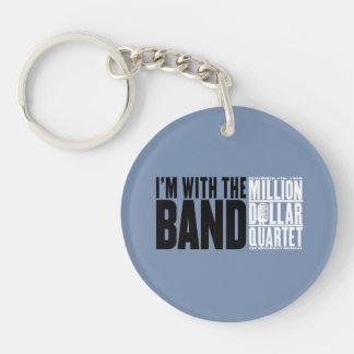 """Millón de cuartetos del dólar """"estoy con la banda  llaveros"""