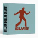 """Millón de cuartetos Elvis del dólar Carpeta 1 1/2"""""""
