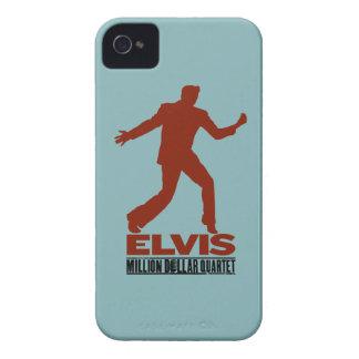 Millón de cuartetos Elvis del dólar iPhone 4 Cárcasas
