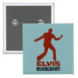 Millón de cuartetos Elvis del dólar Pin