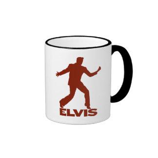 Millón de cuartetos Elvis del dólar Taza De Dos Colores