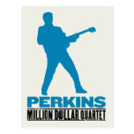 Millón de cuartetos Perkins del dólar Tarjetas Postales