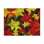 Millón de estrellas del navidad lienzo envuelto para galerías