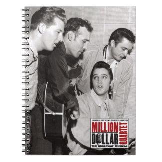 Millón de fotos del cuarteto del dólar cuadernos
