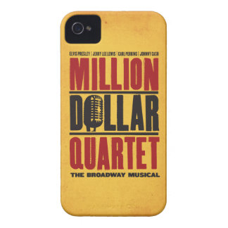 Millón de logotipos del cuarteto del dólar iPhone 4 fundas