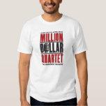 Millón de logotipos del cuarteto del dólar playera