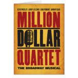 Millón de logotipos del cuarteto del dólar tarjeton