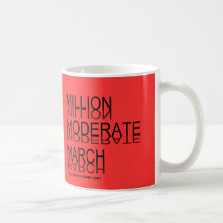 Millón de marzos moderados taza