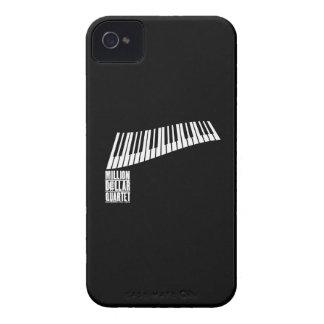 Millón de pianos del cuarteto del dólar - blanco Case-Mate iPhone 4 protectores