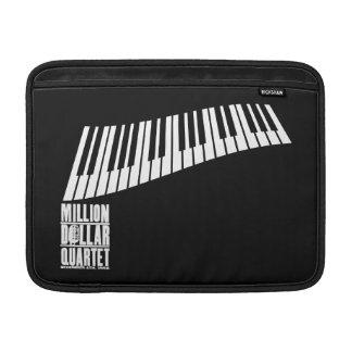 Millón de pianos del cuarteto del dólar - blanco funda para macbook air