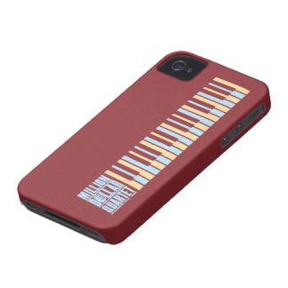 Millón de pianos del cuarteto del dólar iPhone 4 carcasas