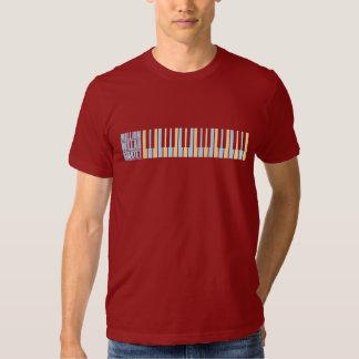 Millón de pianos del cuarteto del dólar playeras