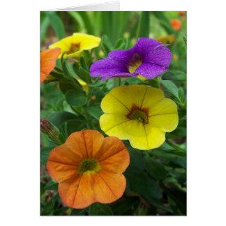Millón de tarjetas de nota florales colorida de Be